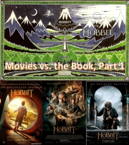 Hobbit - Movies vs Book pt1