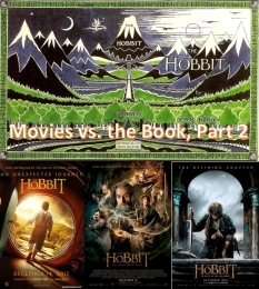 Hobbit - Movies vs Book pt2
