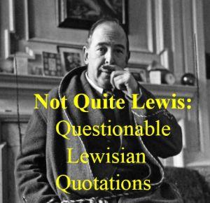 Not Quite Lewis