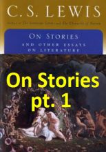 On Stories (Essay Chat pt. 1)